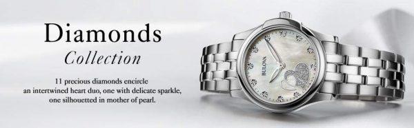 Bulova Diamonds 96P182